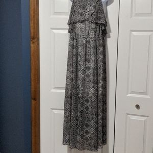 Black and White Maxi-Dress from Torrid
